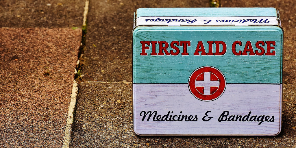 The Buttafly is my first aid kit